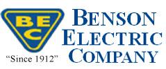 Benson Electric Company Logo